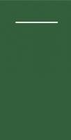 Besteckservietten - dunkelgrün
