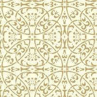 Linclass Servietten 40x40 cm - Claudio (champagner/gold)
