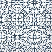 Tissue Servietten 33x33 cm - Claudio  (dunkelblau)