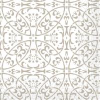 Tissue Servietten 40x40 cm - Claudio (hellgrau)
