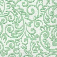 Tissue Servietten 33x33 cm - Bosse (grün)