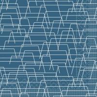 Tissue Servietten 40x40 cm - Tarik (blau)