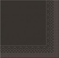 Tissue Servietten 33x33 cm - BRAUN
