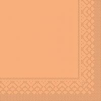 Tissue Servietten 33x33 cm - APRIKOT