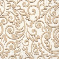 Tissue Servietten 40x40 cm - Bosse (braun)