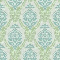 Linclass Servietten 40x40 cm - Doris (grün/blau)