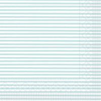 Tissue Servietten 40x40 cm - Heiko  hellblau