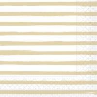 Tissue Servietten 40x40 cm - Bea  (beige)