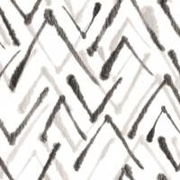 Linclass Servietten 40x40 cm - Zack  (grau/schwarz)