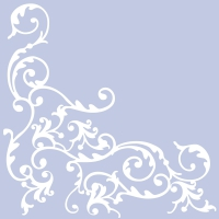 Linclass Servietten 40x40 cm - Pomp (pastellblau)