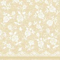 Linclass Servietten 40x40 cm - Lace  (beige)
