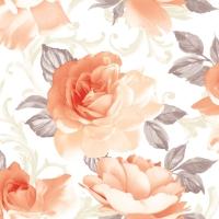 Linclass Servietten 40x40 cm - Rosalie  (aprikot)