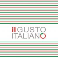 Linclass Servietten 40x40 cm - il GUSTO ITALIANO