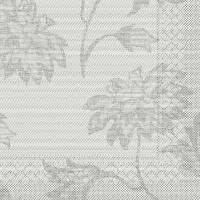 Tissue Servietten 33x33 cm - Lisboa  (grau)