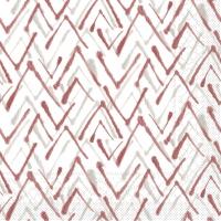 Tissue Servietten 33x33 cm - ZACK  (grau/bordeaux)