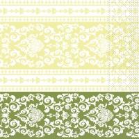 Tissue Servietten 33x33 cm - Pascal (lindgrün)
