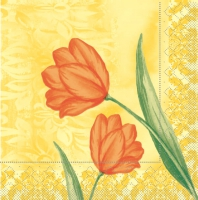 Tissue Servietten 33x33 cm - Sally (orange)
