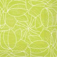 Tissue Servietten 40x40 cm - Hugo (hellgrün)