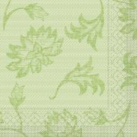 Tissue Servietten 40x40 cm - Lisboa (schilfgrün)