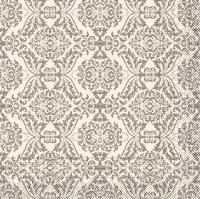 Tissue Servietten 40x40 cm - Kiyan (braun)