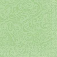 Tissue Servietten 40x40 cm - Lias (Pistazie)