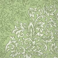 Tissue Servietten 40x40 cm - Delia (grün)