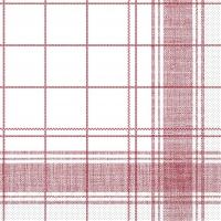 Tissue Servietten 40x40 cm - Nadeem (bordeauxfarben)
