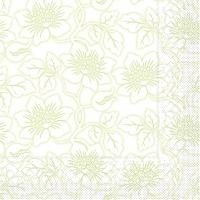 Tissue Servietten 40x40 cm - Hedda (hellgrün)