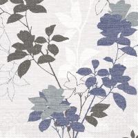 Tissue Servietten 40x40 cm - Chrissy (blaugrau)