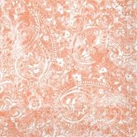 Tissue Servietten 40x40 cm - Felicia  (terrakotta)