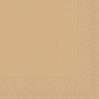 Tissue Servietten 25x25 cm - BASIC  SAND  25x25 cm