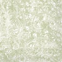 Tissue Servietten 33x33 cm - Felicia (oliv)