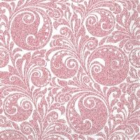Tissue Servietten 40x40 cm - Jordan  (weiss/bordeaux)