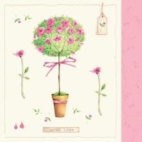 Servietten 33x33 cm - Rosetree