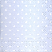 Lunch Servietten Hearts&Dots light blue