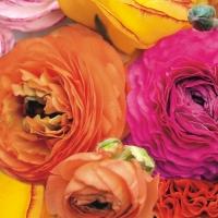 Servietten 33x33 cm - Meer der Blüten
