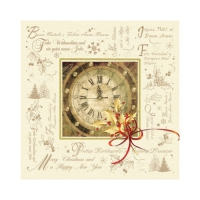 Servietten 25x25 cm - Happy New Year