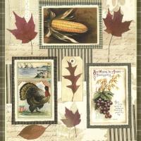 Servietten 33x33 cm - Thanksgiving