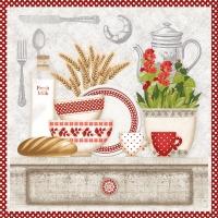 Servietten 33x33 cm - In the Kitchen