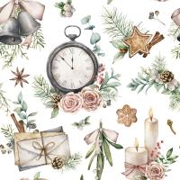 Servietten 33x33 cm - Time for Christmas