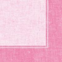 Dinner Servietten Linum rosa