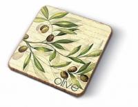 Kork Untersetzer - Olive Garden