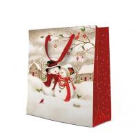 10 Geschenktaschen - Snowy Family