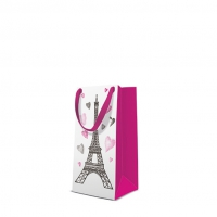 10 Geschenktaschen - I Love Paris narrow