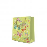 10 Geschenktaschen - Butterflies Around  medium