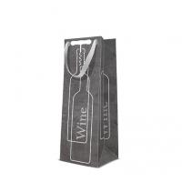 10 Geschenktaschen - Wine set black bottle