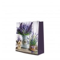 10 Geschenktaschen - Lavender in Bucket medium