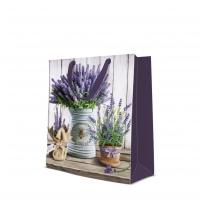10 Geschenktaschen - Lavender in Bucket large