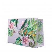 10 Geschenktaschen - Exotic Chameleon