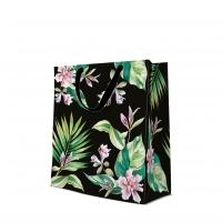 10 Geschenktaschen - Exotic Flowers large